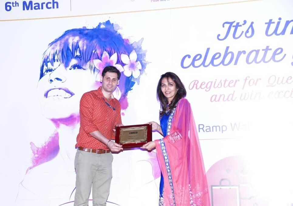 Inorbit Woman Achiever Award of Inspiration 2016