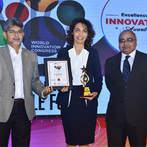 WORLD INNOVATION CONGRESS AWARD - 'HALL OF FAME' HONOUR