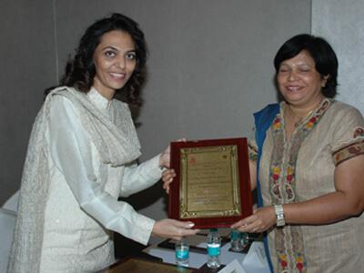 Women Achiever Award 2012