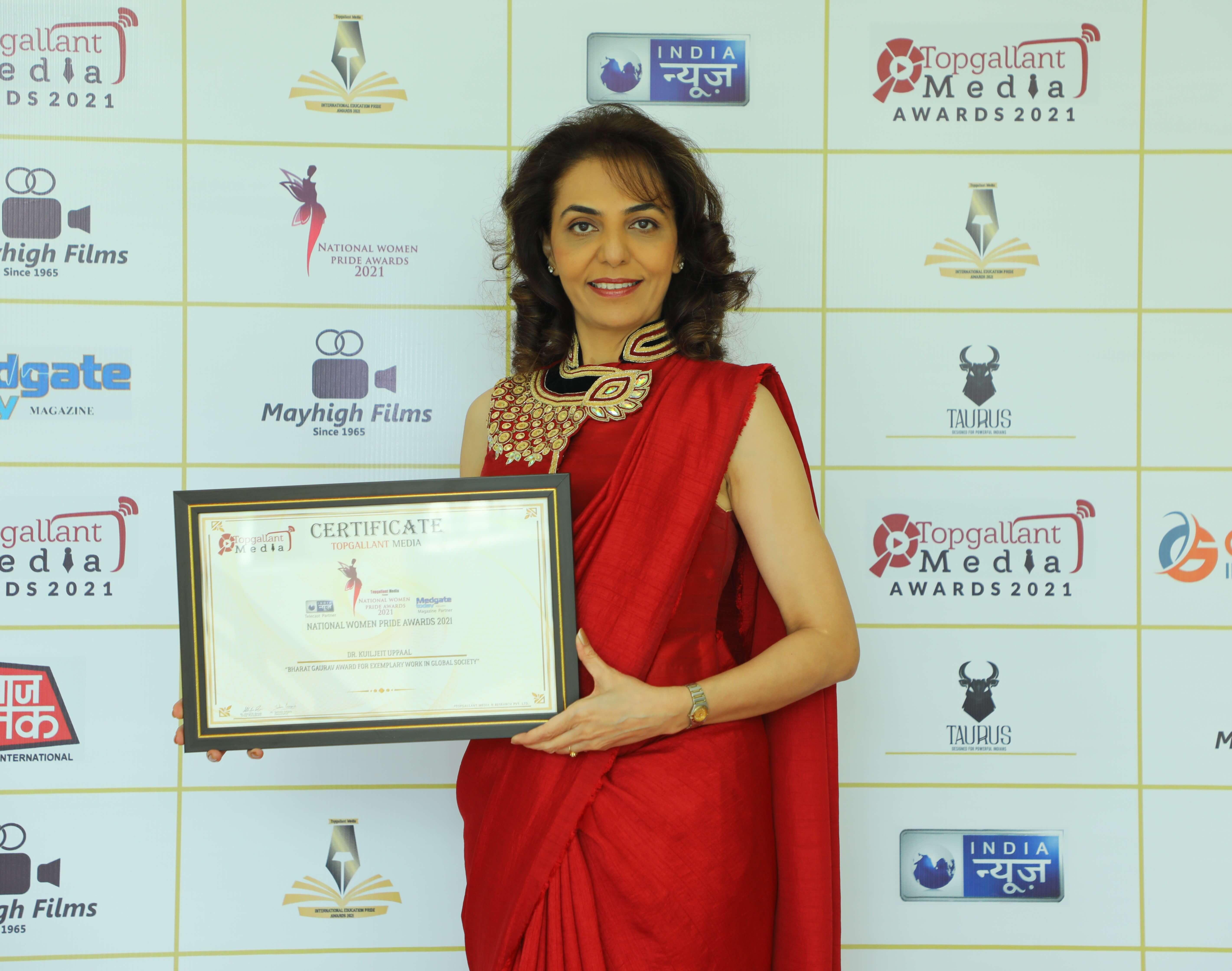 Bharat Gaurav Award